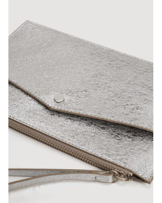 Mango   Metallic Cosmetic Bag   Lyst