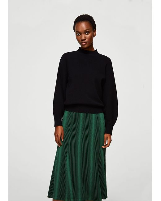 Mango - Green Skirt - Lyst