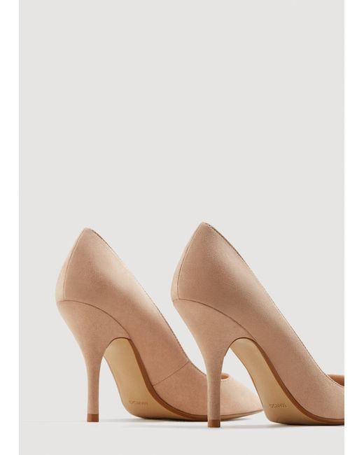 2bd1b3ea6a ... Mango - Pink Pointed Toe Pumps - Lyst ...