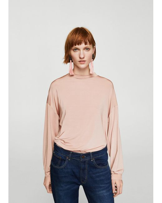 Mango | Pink T-shirt | Lyst