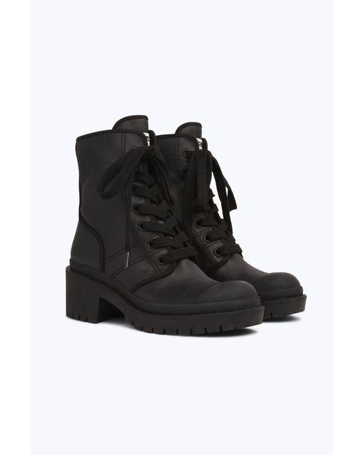 886c6cfa499 ... Marc Jacobs - Black Bristol Canvas Lace Up Boot - Lyst ...