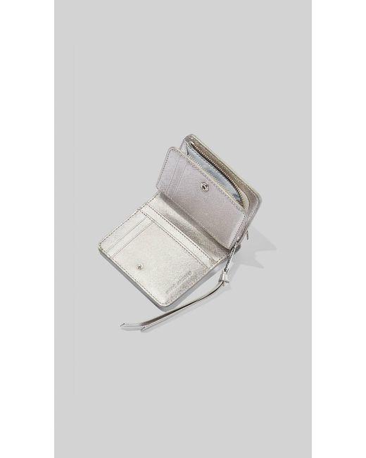 Women's The Snapshot Metallic Dtm Mini Compact Wallet