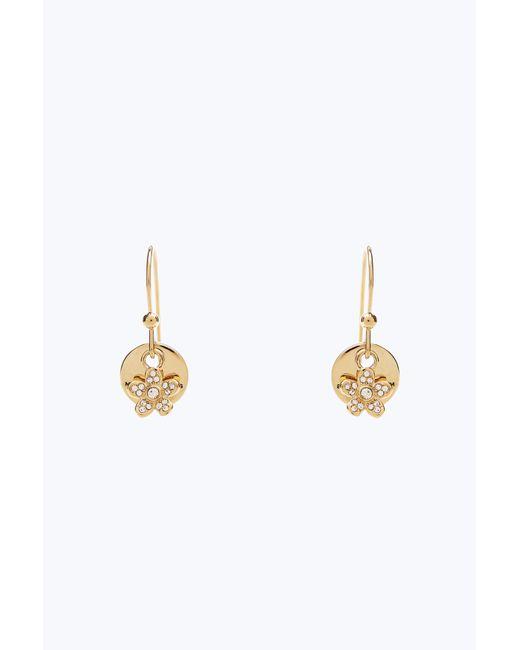 Marc Jacobs | Metallic Mj Coin Earrings | Lyst