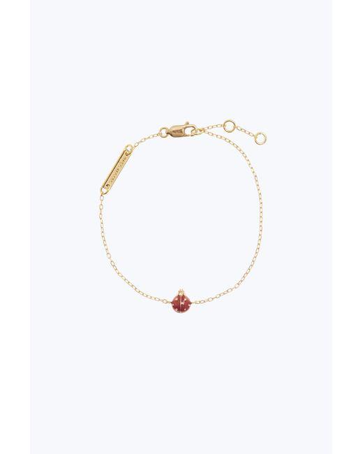 Marc Jacobs - Metallic Ladybug Bracelet - Lyst