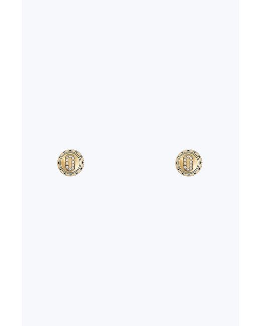 Marc Jacobs - Metallic Double Sided Medallion Studs - Lyst