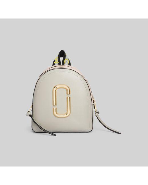 Marc Jacobs Multicolor Logo Strap Pack Shot Backpack