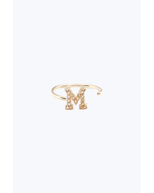 Marc Jacobs | Metallic M Open Ring | Lyst