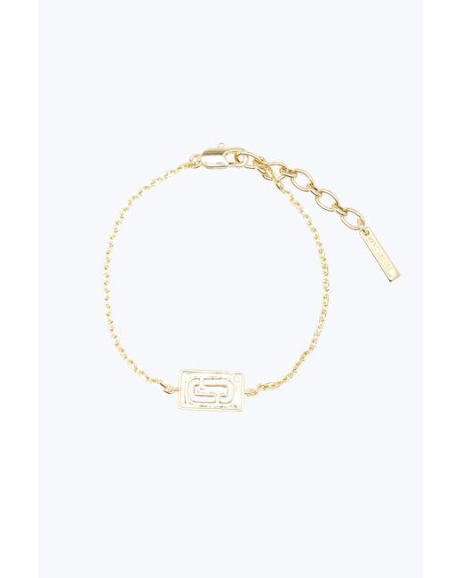 Marc Jacobs | Metallic Double J Bracelet | Lyst