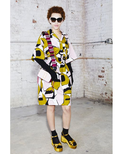 Marc Jacobs - Multicolor Printed Short Sleeve Shirt - Lyst