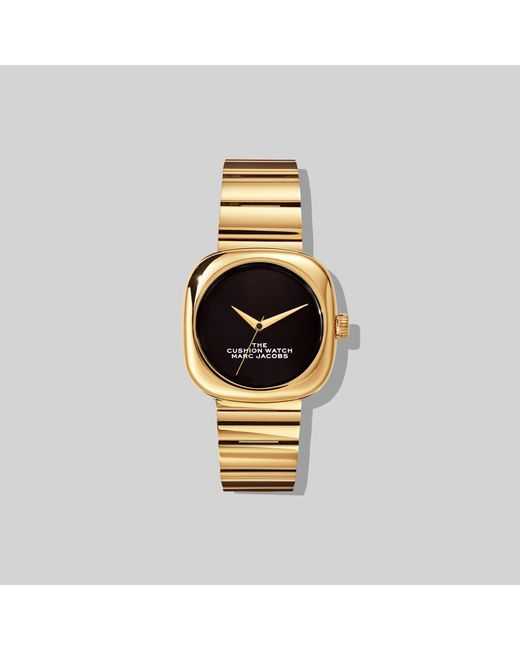 Marc Jacobs Metallic The Cushion Watch