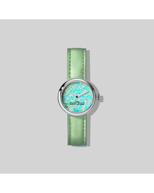 Marc Jacobs Green The Round Watch
