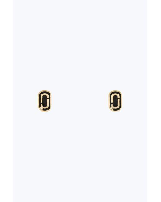 Marc Jacobs | Metallic Double J Stud Earrings | Lyst