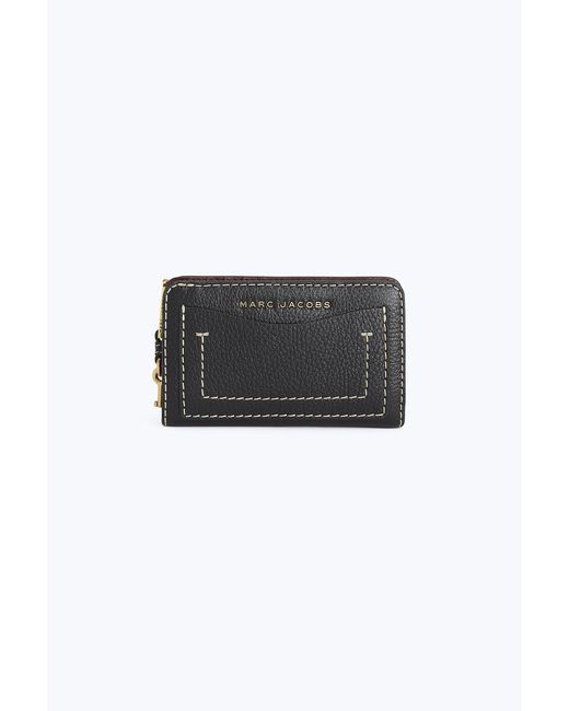 Marc Jacobs - Black The Grind Compact Continental Wallet - Lyst