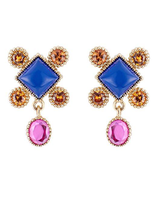 Larkspur & Hawk - Blue Cora Stud Earrings - Lyst