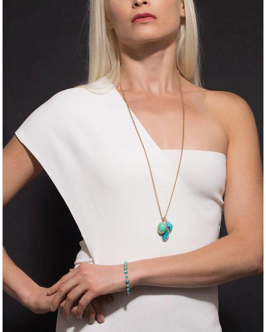 Irene Neuwirth Multicolor Limited Edition Mint Chrysoprase Pendant