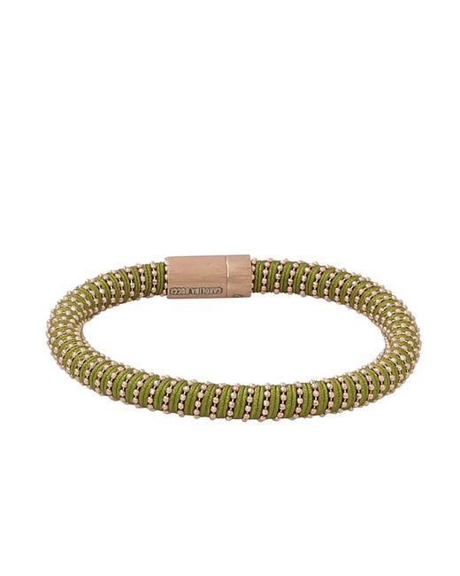 Carolina Bucci | Green Yellow Gold Twister Bracelet | Lyst