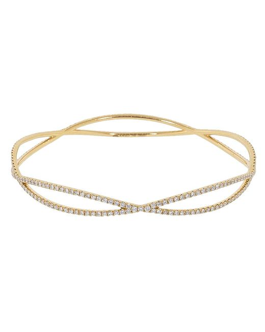Kwiat - Metallic Fidelity Collection Diamond Pave Bracelet - Lyst