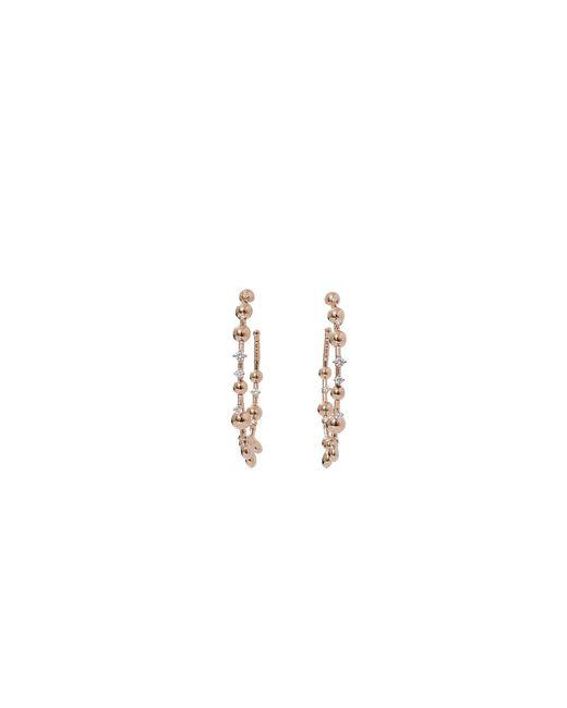 Mattia Cielo | Metallic Rugiada Diamond Hoop Earrings | Lyst
