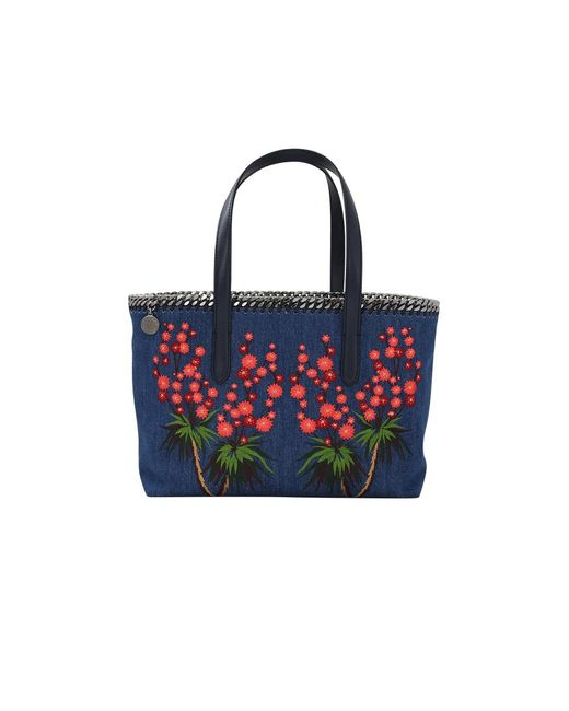 Stella McCartney | Blue East West Cactus Tote | Lyst