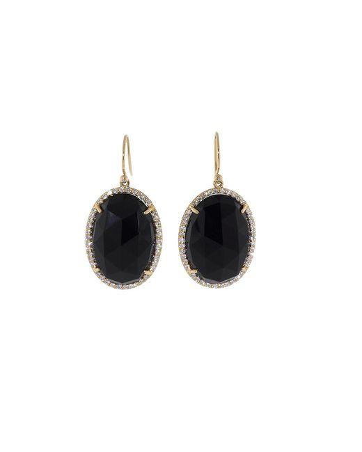 Irene Neuwirth | Rose Cut Black Onyx Earrings | Lyst