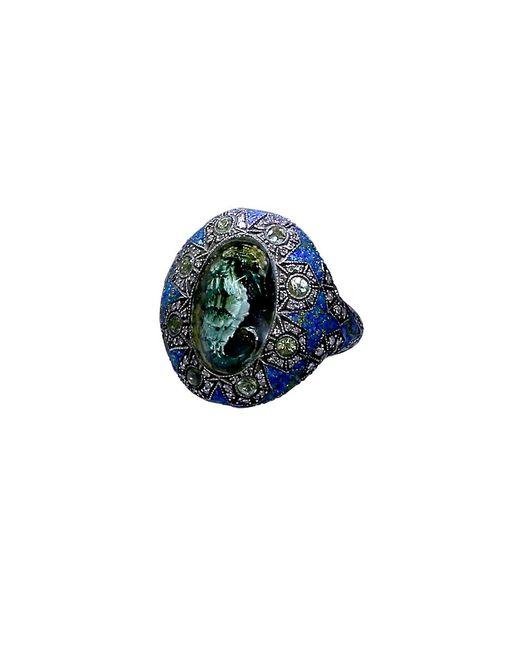 Sevan Biçakci   Blue Carved Seahorse Ring   Lyst