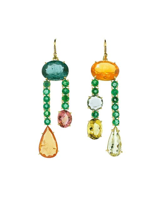 Irene Neuwirth | Multicolor One Of A Kind Earrings | Lyst