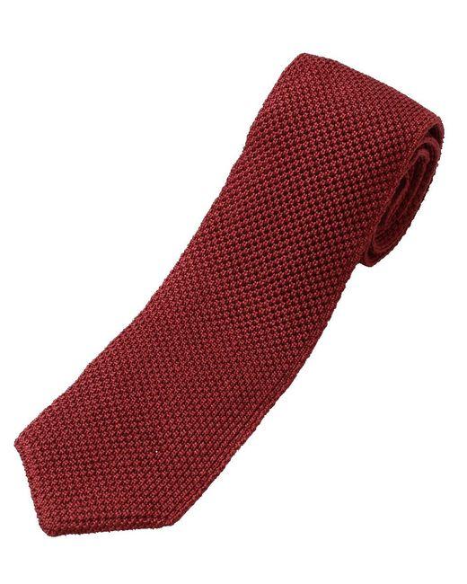 Brunello Cucinelli   Red Knit Tie for Men   Lyst