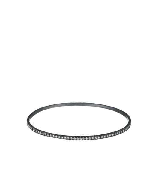 Yossi Harari | Metallic Lilah White Diamond Pave Bangle | Lyst