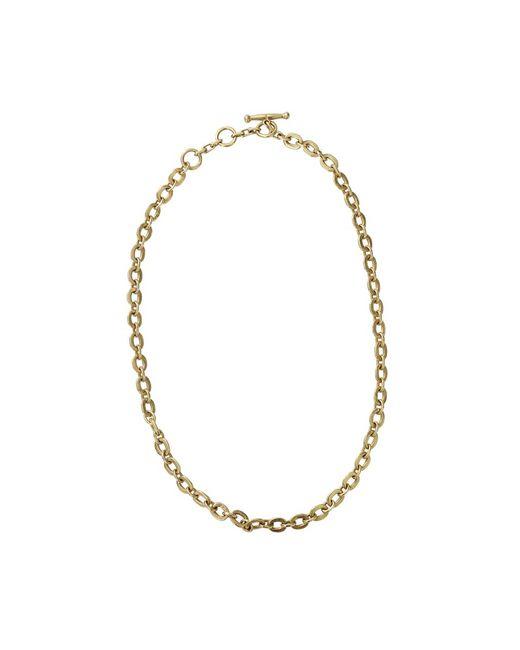 Vaubel - Metallic Tiny Circle Chain Necklace - Lyst