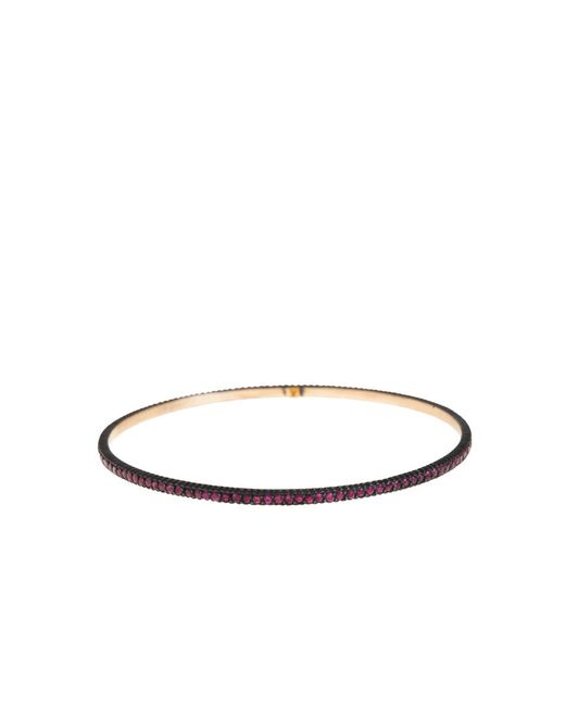 Yossi Harari - Red Lilah Pave Ruby Bangle - Lyst