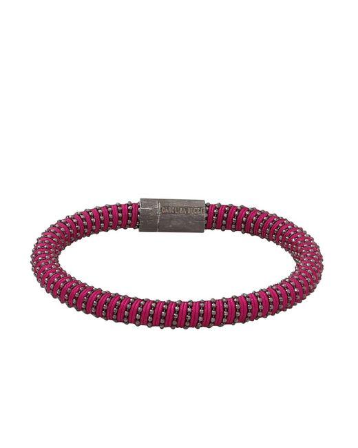 Carolina Bucci - Purple Twister Band Bracelet - Lyst