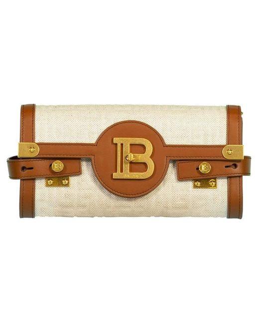 Balmain Multicolor Bbuzz Pouch Monogram Bag