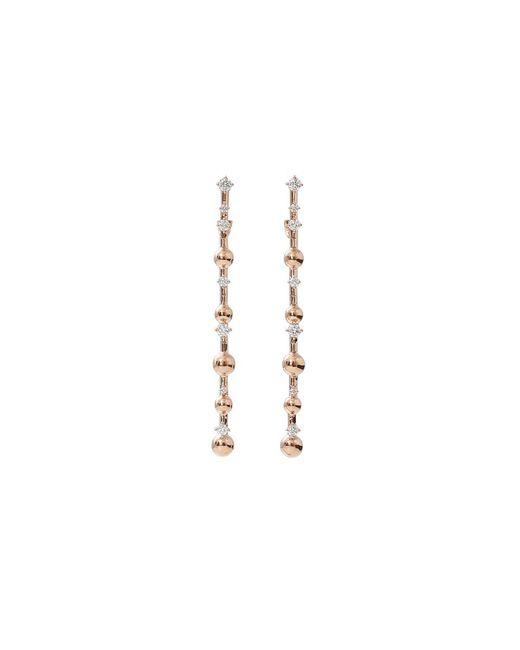 Mattia Cielo   Metallic Rugiada Diamond Pave Earrings   Lyst