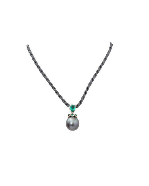 Inbar - Metallic Tahitian Pearl Pendant Necklace - Lyst