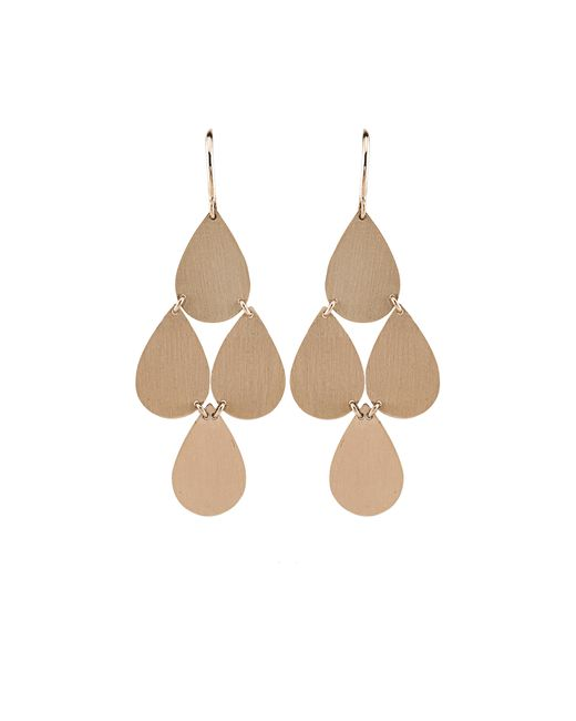 Irene Neuwirth | Metallic Four-drop Chandelier Earrings | Lyst