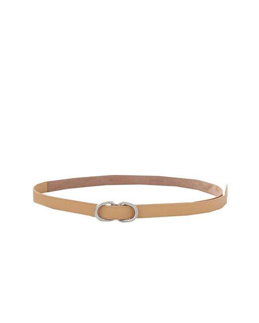 Michael Kors   Brown Double Ring Belt   Lyst