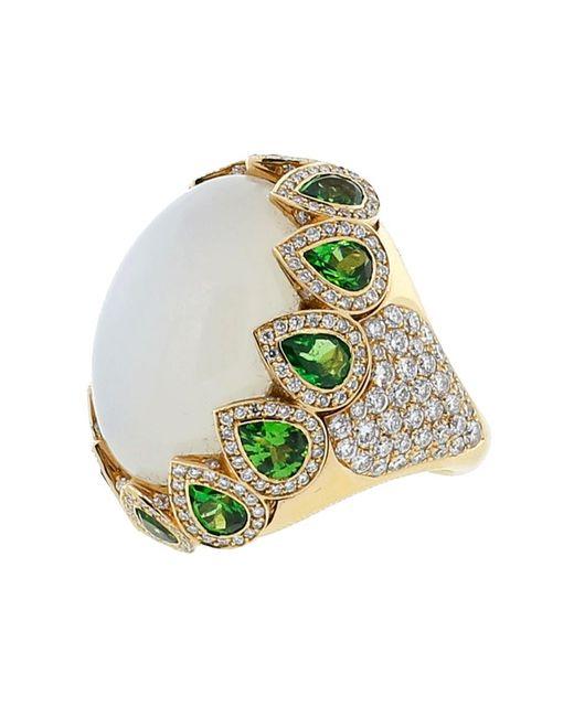 Inbar | Metallic Cabochon Ring | Lyst