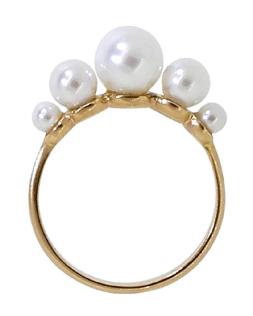 Irene Neuwirth - Multicolor Pearl Ring - Lyst
