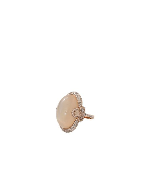 Inbar - Multicolor Cabochon Moonstone Diamond Ring - Lyst