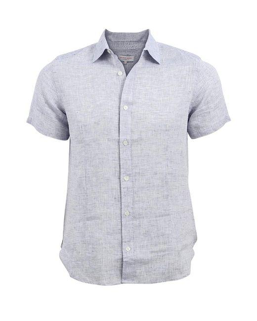 Orlebar Brown - Blue Meden Shirt for Men - Lyst