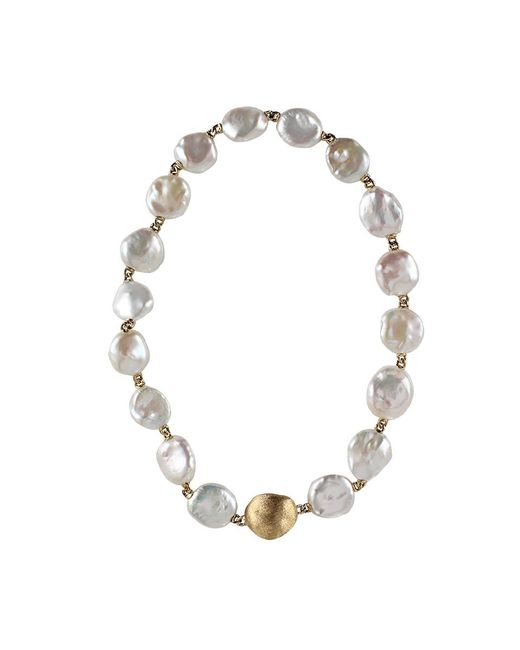 Yvel | Metallic Keshi Pearl Necklace | Lyst