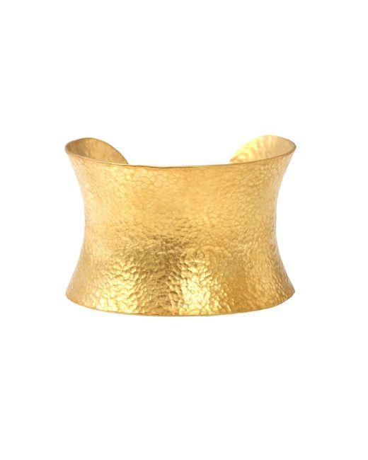 Yossi Harari | Metallic Large Corset Cuff Bracelet | Lyst