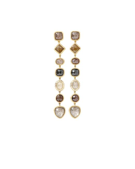 Todd Reed - Pink Fancy Diamond Drop Earrings - Lyst