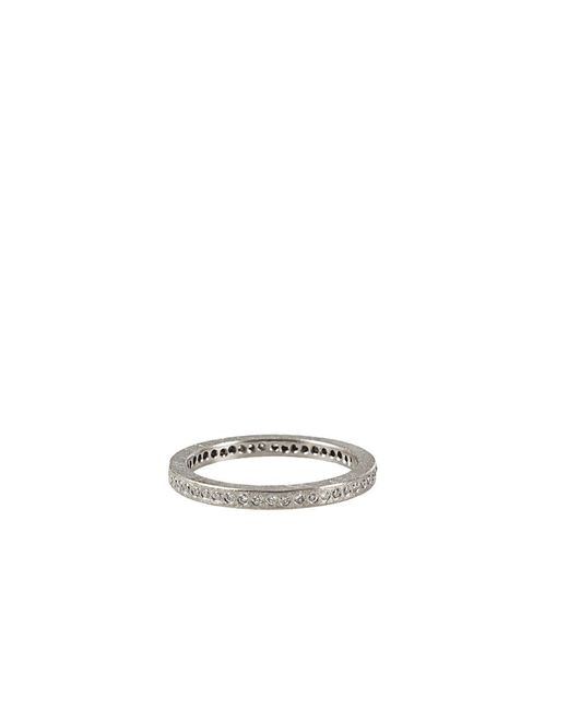 Todd Reed | Metallic Palladium White Diamond Eternity Ring for Men | Lyst