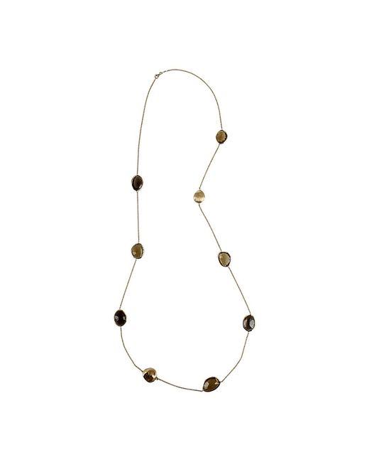 Yvel - Multicolor Multi-color Smokey Quartz Necklace - Lyst