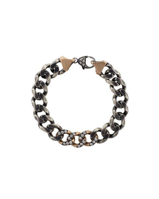 Sylva & Cie - Metallic Link Chain Bracelet - Lyst
