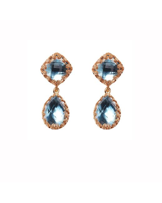 Larkspur & Hawk - Blue Jane Earrings - Lyst