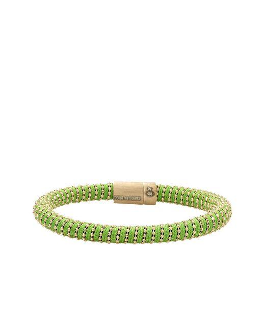 Carolina Bucci | Green Twister Band Bracelet | Lyst