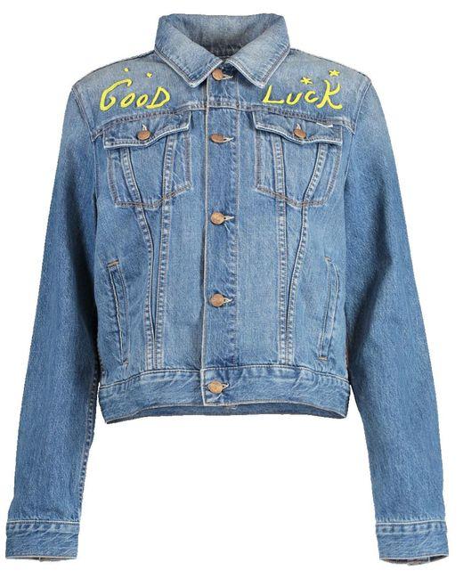 Mother Blue The Pocket Bruiser Jacket