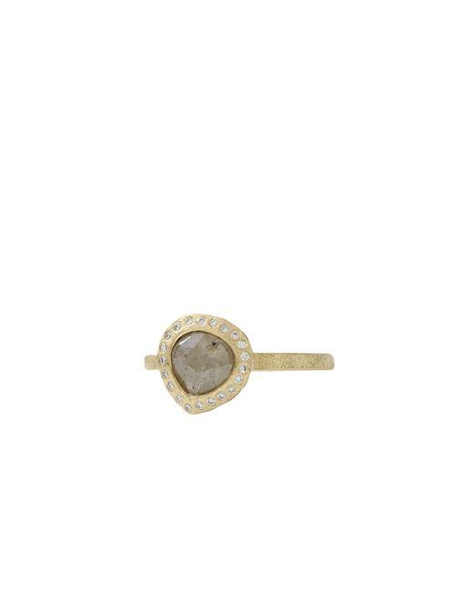 Todd Reed - Green Fancy Cut Pear Shape Diamond Ring - Lyst